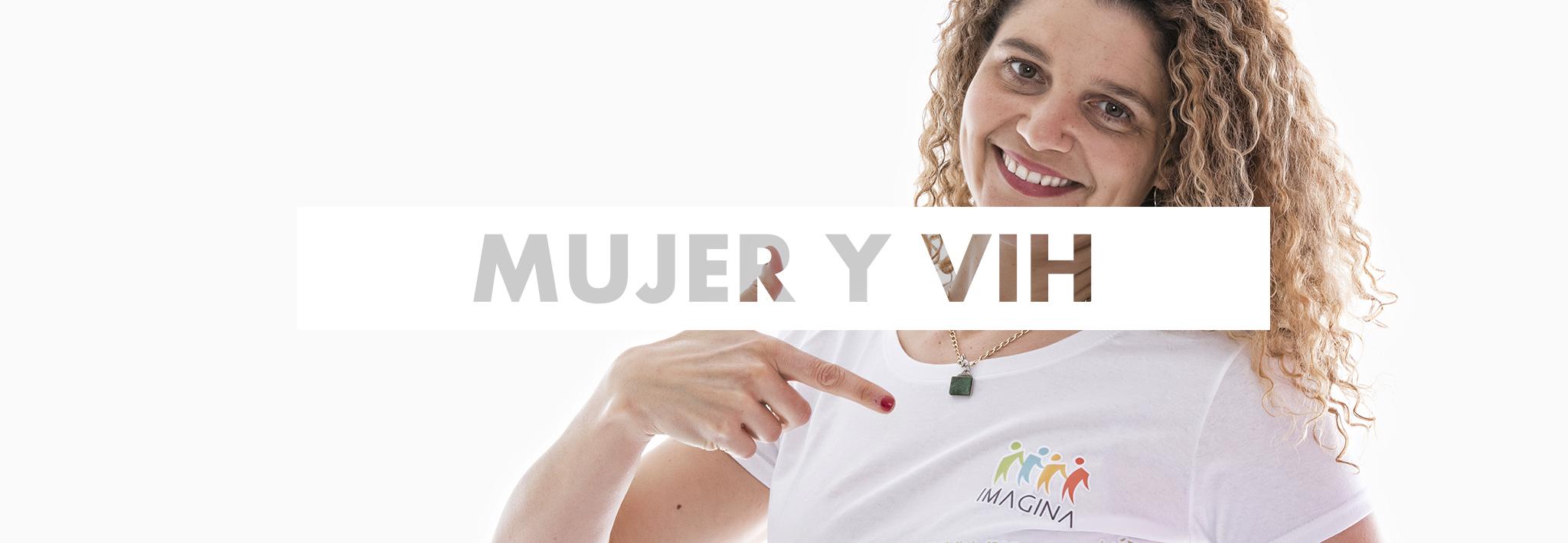 mujer y VIH